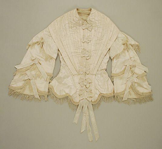 1855 basquine jacketMuseums Mobiles, 19Th Century, 1850S Corset, Century Opulance185060, Fashion 1850, Century Opulent 1850 60, 1800S, Metropolitan Museums, 1855 Basquin