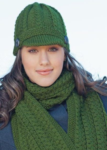 Hats With Bills And Brims Knitting Patterns Hat Knitting Patterns