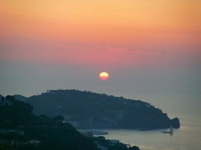 Tramonto a Ischia by Hotel Ape Regina Ischia, via Flickr