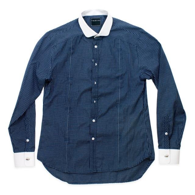www.maskool.in - Thrunk Plaid Long Shirt Rp 359.000,00