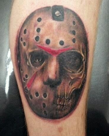 jason voorhees tattoo by matt riddle who 39 s your donny tattoo in fenton mi friday the 13th. Black Bedroom Furniture Sets. Home Design Ideas
