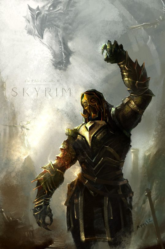 Such an amazing Skyrim poster! Like if you agree!
