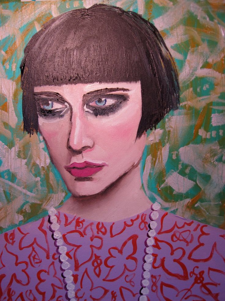 """Too Much Eyeliner? 11"""" x 14"""" x 1.5"""" by loriville on Etsy"""