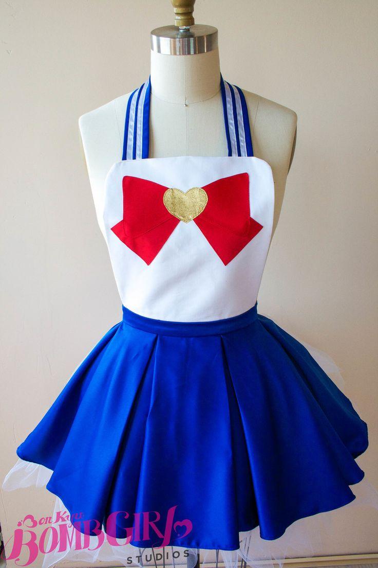 Sailor Moon Apron from Bombkyugirl                              …