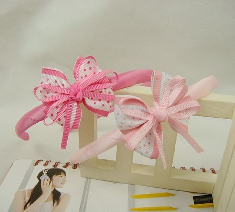 Freeshipping!New Cute Kids/Children/Baby/Girl Ribbon HairBands/Hair wear/Hair Accessories/Fashion style/Wholesale-in Hair Accessories from Apparel & Accessories on Aliexpress.com