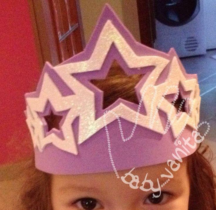 https://m.facebook.com/babyvanita Fommy foamy crepla decorazioni cameretta bambini fiocco nascita baby gift Crown corona principessa stelle star princess