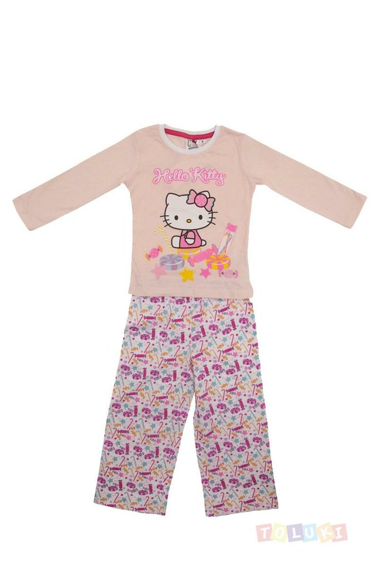 top pyjama fille hello kitty sucreries with lit hello. Black Bedroom Furniture Sets. Home Design Ideas