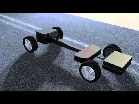 Protean Electric Brabus Vehicle Animation