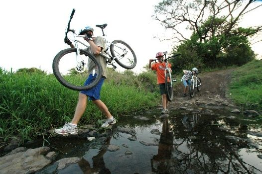 Biking adventures with Hluhluwe River Lodge, KwaZuluNatal, South Africa