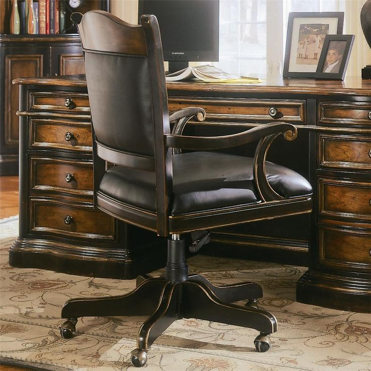 preston ridge office chair by hooker furniture