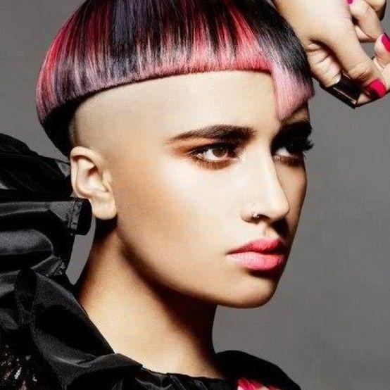 future fashion, futuristic style, unique hairstyle,future punk