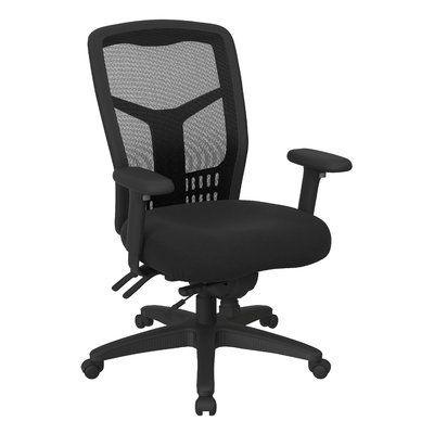 Office Star ProGrid High-Back Desk Chair Upholstery: Nano-Tex® with BioAm - Sojourn Just Blue