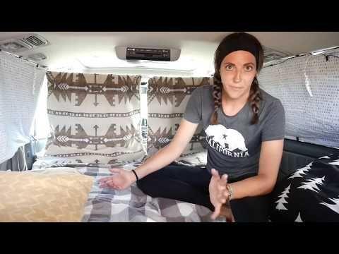 Mini Van Camper Conversion - YouTube