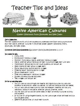 native americans unit bundle of printables worksheets and projects common cores native. Black Bedroom Furniture Sets. Home Design Ideas