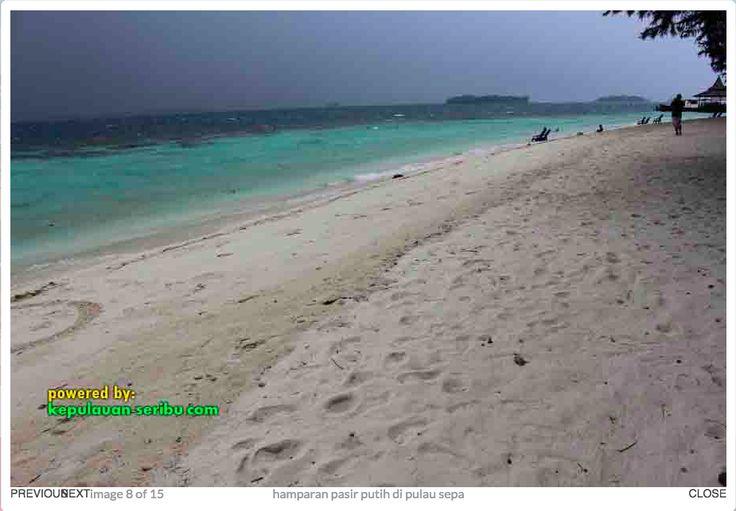 Vacation on the island of Pulau Sepa.