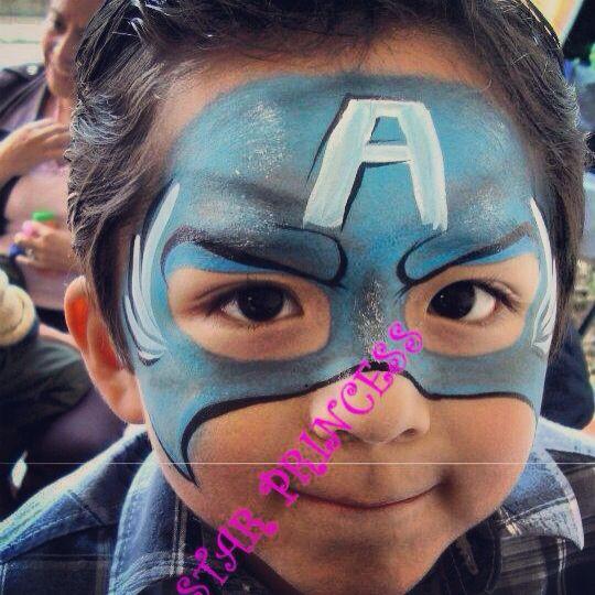 Avengers Facepaint Pintacaritas Maquillaje Nios Fiestasinfantiles Maquillatge Cares