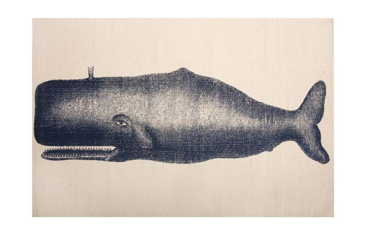 Moby Whale Bath Mat -