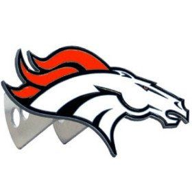 Denver Broncos Trailer Hitch Logo Cover