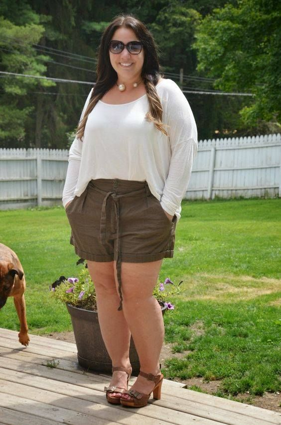 50+ #Stunning #Crop #Top #Idear For #Plus #Size #Ladies