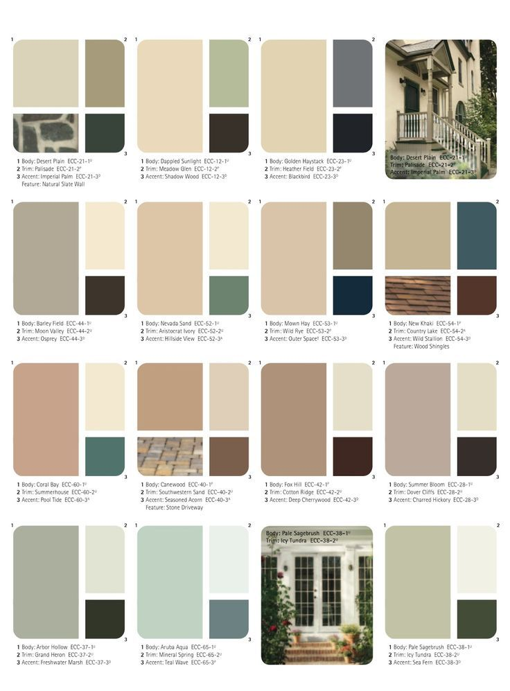 20 best inspiring colors images on pinterest exterior for Exterior color combinations