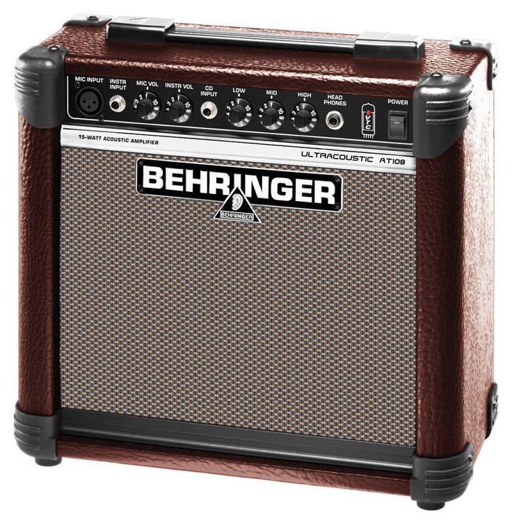 BEHRINGER AMPLIFICADOR GUITARRA ACUSTICA AT108