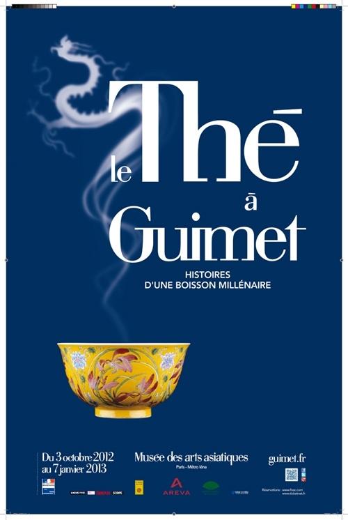 Le Thé à Guimet, histoires d'une boisson millénaire, Musée des arts asiatiques Guimet, 3 octobre 2012 - 7 janvier 2013