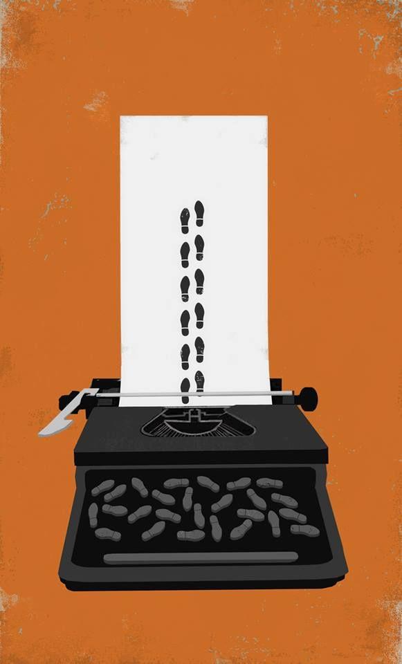 """Eva Vázquez Dibujos     Ilustración para EL PAÍS """" Démonos la mano """" artículo de José Enrique de Ayala - El País Opinión   El problema de Cataluña no se resolverá esperando pasivamente a que desaparezca por agotamiento, o negándolo. Hay que actuar con visión de futuro, de una forma sensata, transaccional y civilizada"""