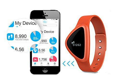 iChoice Star Bluetooth Low Energy Activity Tracker with BMI Management,Tracking Steps,Distance,Calories Burned,Fat Burned Functions (Orange) - http://www.exercisejoy.com/ichoice-star-bluetooth-low-energy-activity-tracker-with-bmi-managementtracking-stepsdistancecalories-burnedfat-burned-functions-orange/fitness/