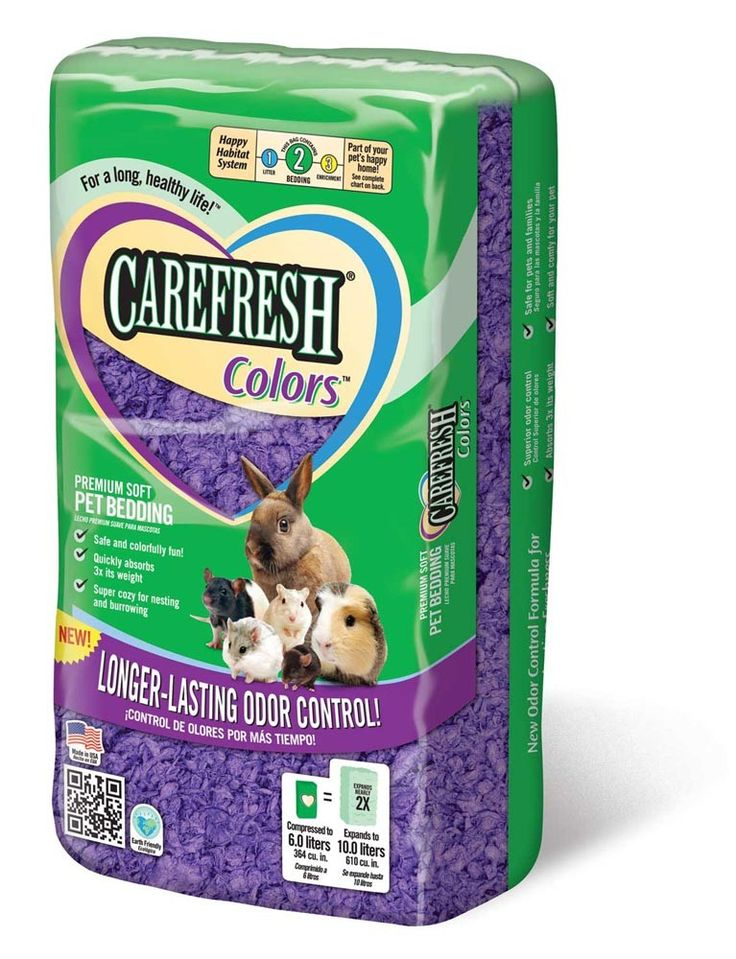 Carefresh Pet Bedding Confetti Colors Purple Purple