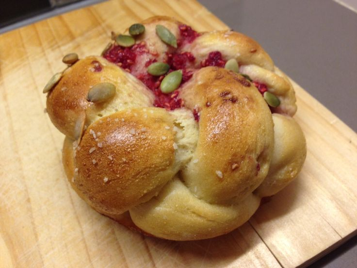 I came up with this recipe for challah seed buns a few weeks ago. We had raspberries and pumpkin seeds in our kitchen, and I wanted to make some type of fancy breakfast bread for my friend who was ...