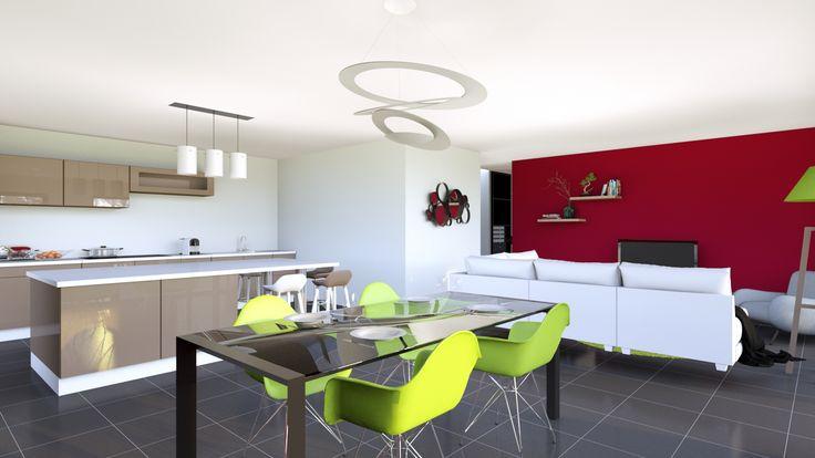 best 25 prix maison ossature bois ideas on pinterest lodge moderne plans de maison. Black Bedroom Furniture Sets. Home Design Ideas