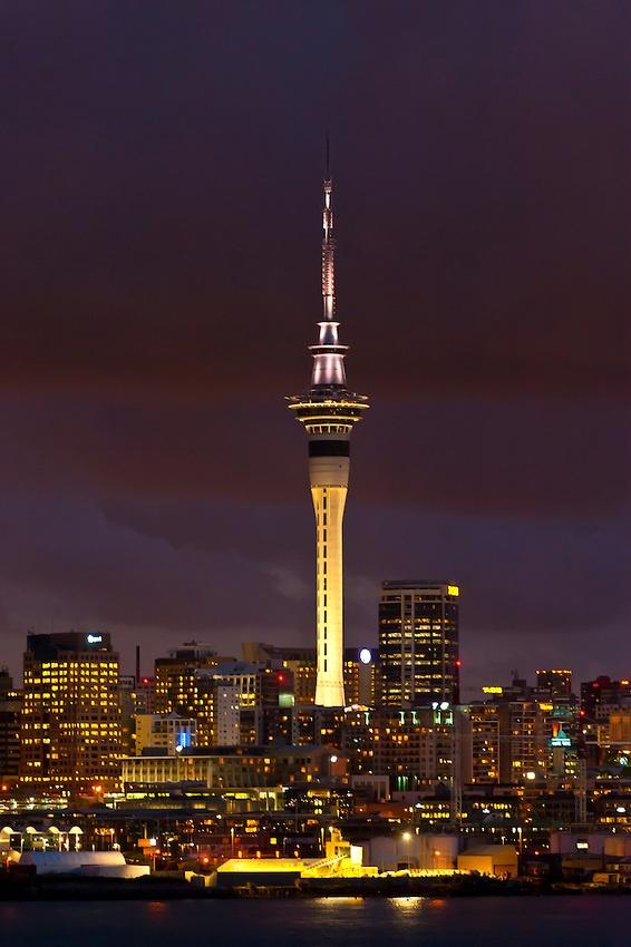 Auckland City Skyline, Auckland, New Zealand