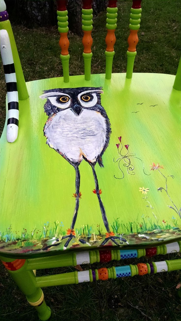 Best 25+ Hand painted chairs ideas on Pinterest