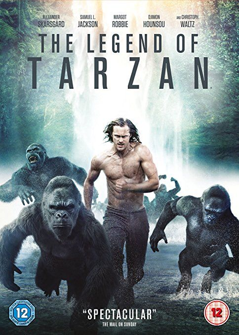 The Legend of Tarzan [DVD] [2016]