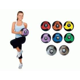 AeroMat Deluxe Exercise Medicine Ball Set (2 - 30 lb), (exercise ball, aeromat, charles bronson, fitness, medicine ball, michael gordon peterson, solitary fitness, fitness ball)