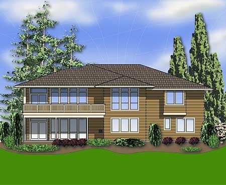 Plan 6966am modern prairie style home plan basements for Modern prairie style homes