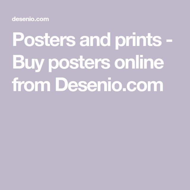 Posters and prints - Buy posters online from Desenio.com