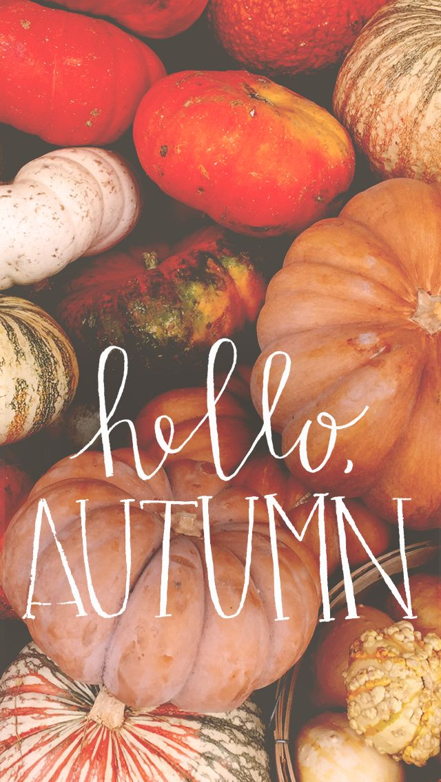 Hello Autumn- Tap to see more amazing September wallpaper! | @mobile9