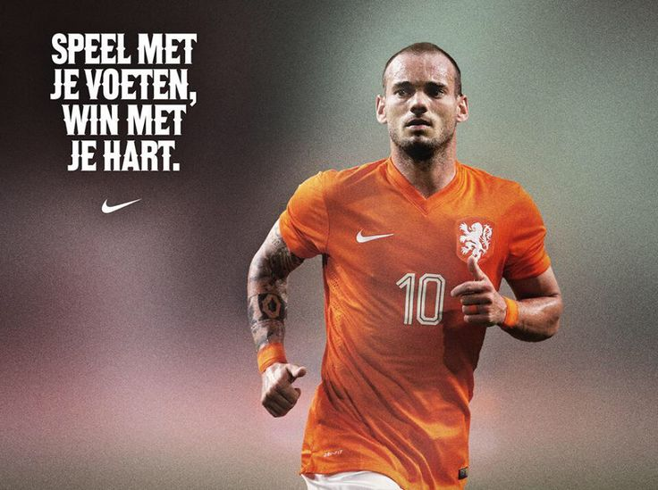 WK voetbal 2014 - Nederland - Mexico - Nike