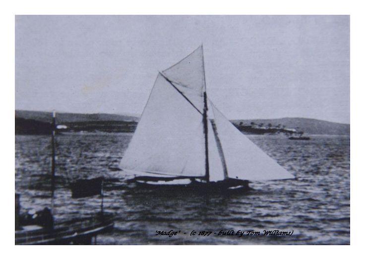 'Madge' circa 1887.