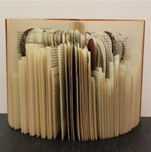 Artist Book. Altered Observer's Book of Birds' Eggs by Andrew Malone. Canterbury collection