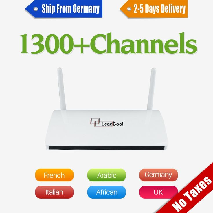 36.28$  Buy here - http://ali4vb.shopchina.info/1/go.php?t=32750050630 - French Arabic IPTV Box Leadcool Android Set Top Box VIP Sports Italy UK Italy Europe 1300 QHDTV Abonnement Live TV Optional  #buychinaproducts