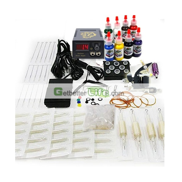Cheap tattoo kits and supplies for tattoo apprentice, Mini tattoo kits for beginners. [WS-KA01]US$18.90 : getbetterlife.com
