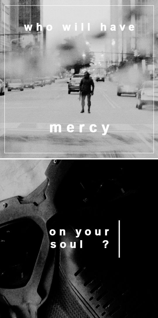 ''Who will have mercy on your soul?'' / Bucky Barnes : The Winter Soldier