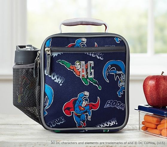 Justice League™ Lunch Bag   Pottery Barn Kids