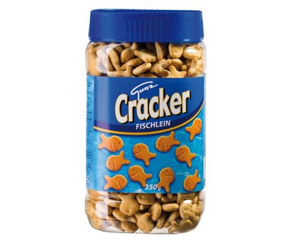 Snacks Crackers visjes