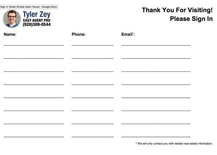 Best 25+ Sign in sheet template ideas on Pinterest Sign in sheet - contact information template