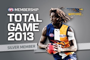 West Coast Eagles Club Support Membership Card