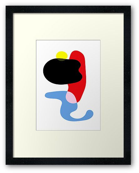 Sexual Beings Under Moonlight by Paucian Marius (mpabstractart); Buy framed prints starting $99.55. #art #abstract #shapes #sexual #prints #sell