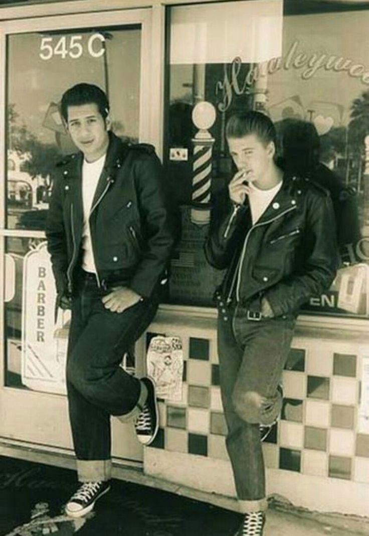 Young men's fashions 1950s..OH how I remember this!!